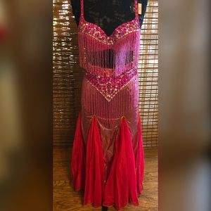 Other - Beautiful sequin and beaded belly dancer costume